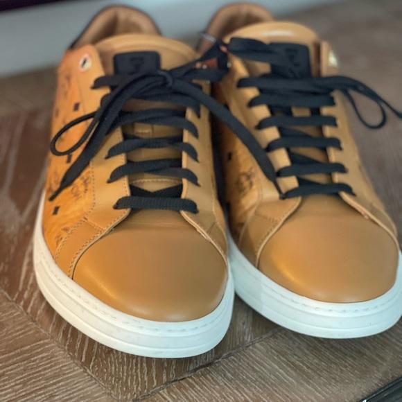 MCM Men's Terrain Lo Sneakers in Visetos